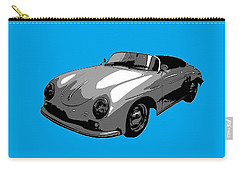 Blue Speedster Carry-all Pouch by J Anthony