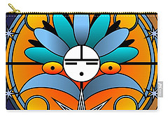 Blue Star Kachina 2012 Carry-all Pouch