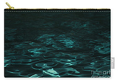 Blue Swirl One Carry-all Pouch by Chris Thomas