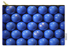 Blue Symmetry Carry-all Pouch by Danuta Bennett