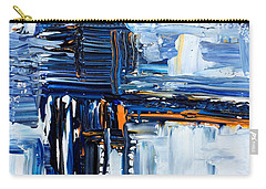 Blue Thunder Carry-all Pouch by Rebecca Davis