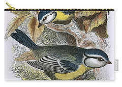 Blue Titmouse Carry-all Pouch