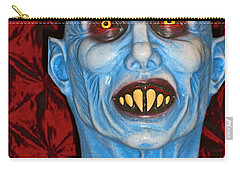 Carry-all Pouch featuring the photograph Blue Vampire by Joan Reese