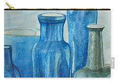 Blue Vases I Carry-all Pouch