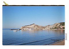 Carry-all Pouch featuring the photograph Blue Water by George Katechis