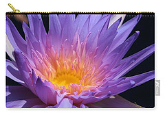 Blue Waterlily 2 Carry-all Pouch