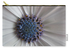 Blue-white Loveliness Carry-all Pouch