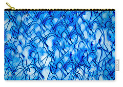 Blue Wispy Carry-all Pouch by Don Gradner