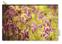 Bluebell In The Woods Carry-all Pouch by Spikey Mouse Photography