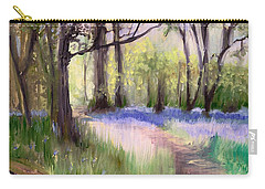 Bluebells At Dusk Carry-all Pouch
