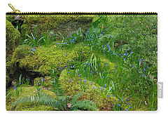Carry-all Pouch featuring the photograph Bluebells  by Marilyn Wilson