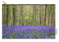 Bluebells Surrey England Uk Carry-all Pouch