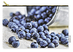 Blueberries Carry-all Pouch by Elena Elisseeva