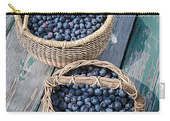 Blueberry Baskets Carry-all Pouch by Edward Fielding