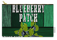 Blueberry Farm Carry-all Pouch