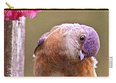 Bluebird Carry-all Pouch by Jean Noren