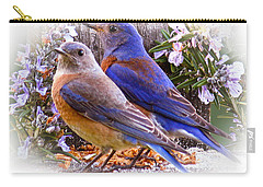 Bluebird Wedding Carry-all Pouch