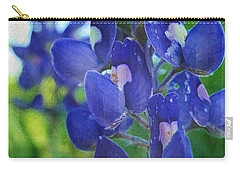 Bluebonnet Charmer Carry-all Pouch