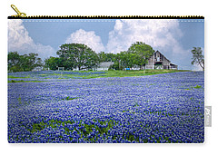 Bluebonnet Farm Carry-all Pouch by David and Carol Kelly