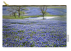 Bluebonnet Pond Carry-all Pouch by David and Carol Kelly