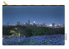 Bluebonnet Twilight Carry-all Pouch by Dave Files