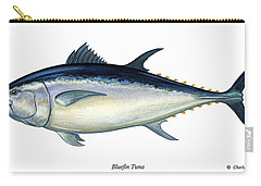 Bluefin Tuna Carry-all Pouch by Charles Harden