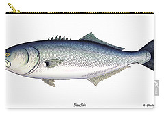 Bluefish Carry-all Pouch by Charles Harden