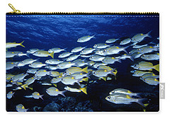Bluelined Snappers And Yellowspot Emperors Carry-all Pouch