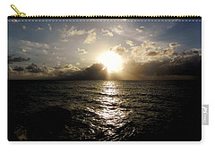 Carry-all Pouch featuring the photograph Blues @ Evening by Amar Sheow