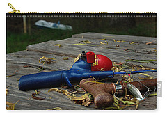 Carry-all Pouch featuring the photograph Blured Memories 02 by Peter Piatt