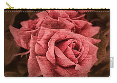 Carry-all Pouch featuring the photograph Blush by Wallaroo Images