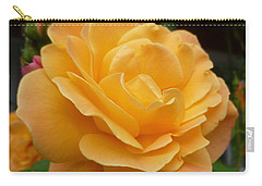 Carry-all Pouch featuring the photograph Blushing Rosalina by Lingfai Leung