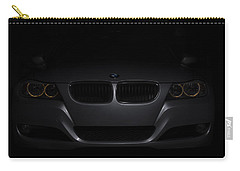 Bmw Car In Black Background Carry-all Pouch