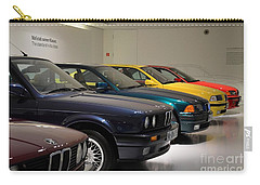 Bmw Cars Through The Years Munich Germany Carry-all Pouch