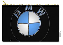 Bmw Emblem Carry-all Pouch by DigiArt Diaries by Vicky B Fuller