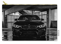 Carry-all Pouch featuring the digital art Bmw M4 by Douglas Pittman