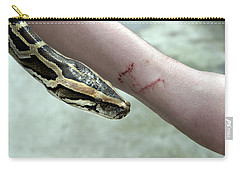 Boa Constrictor Bite Carry-all Pouch by M. Watson
