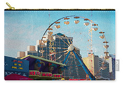 Boardwalk Ferris  Carry-all Pouch by Alice Gipson