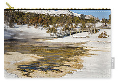 Boardwalk In The Park Carry-all Pouch by Sue Smith