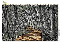Boardwalk In The Woods Carry-all Pouch