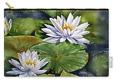 Boardwalk Lilies Carry-all Pouch