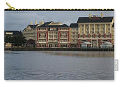 Carry-all Pouch featuring the photograph Boardwalk Panorama Walt Disney World by Thomas Woolworth