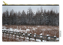 Carry-all Pouch featuring the photograph Boardwalk Series No1 by Bianca Nadeau