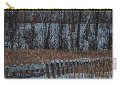 Carry-all Pouch featuring the photograph Boardwalk Series No2 by Bianca Nadeau