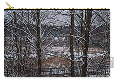 Carry-all Pouch featuring the photograph Boardwalk Series No3 by Bianca Nadeau