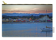 Boat At Dusk Santa Cruz Boardwalk Carry-all Pouch