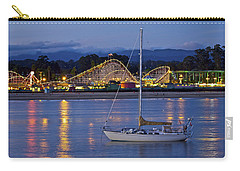 Boat At Twilight Carry-all Pouch