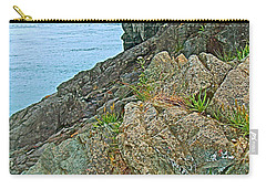 Boat By East Quoddy Bay On Campobello Island-nb Carry-all Pouch