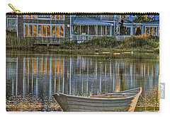 Boat In Late Afternoon Carry-all Pouch