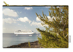 Carry-all Pouch featuring the photograph Boat In Port by Amar Sheow